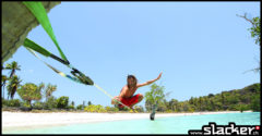 Waterslack in dieser wunderschönen Bucht in Indonesien. Foto: Sepri.