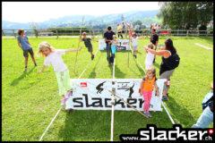 Der einmalige Slacker-Park sorgt überall und für gross und klein für gute Stimmung!